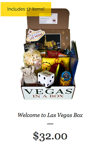 Las Vegas Welcome Package