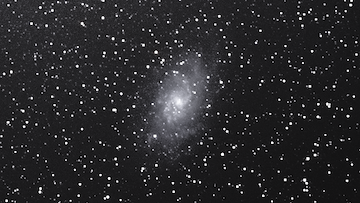 M33 untracked DSLR Astrophotography