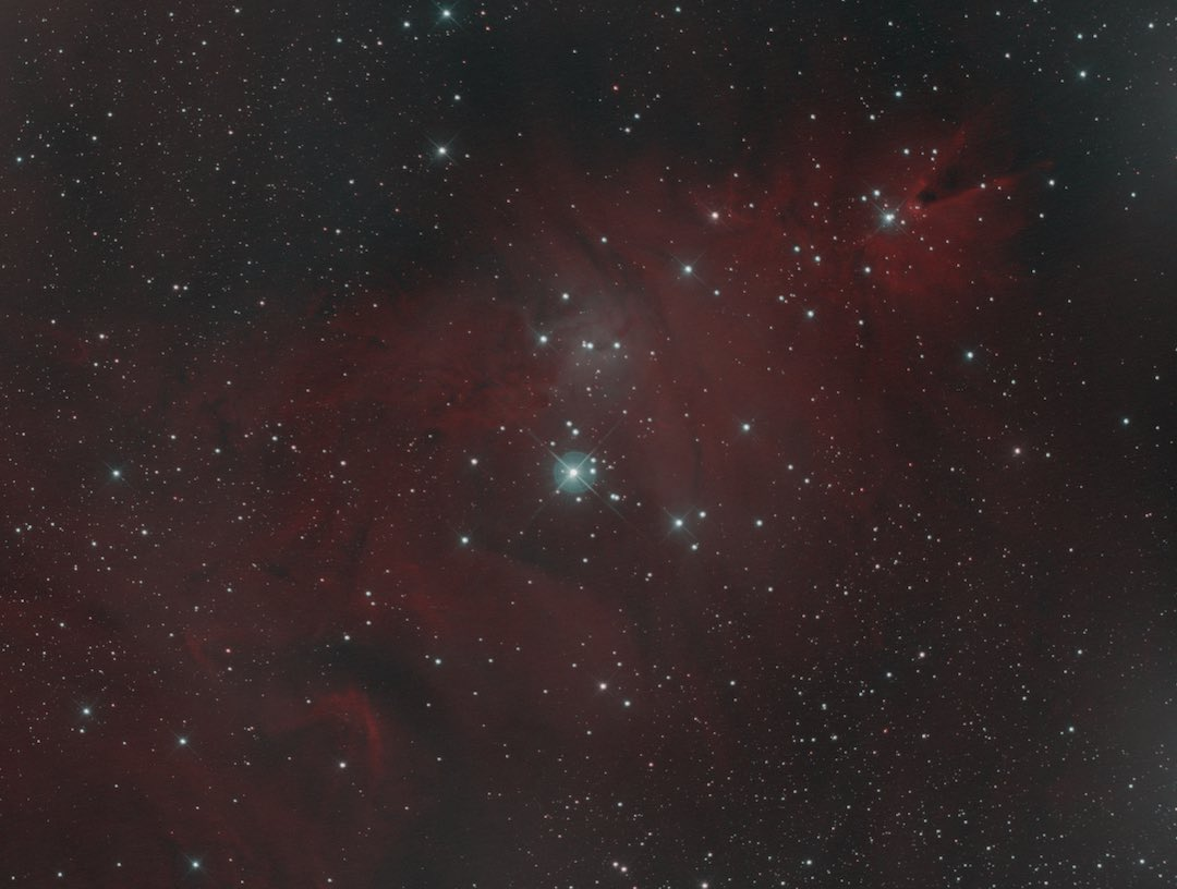 Christmas Tree and Cone Nebula bicolor combination tutorial