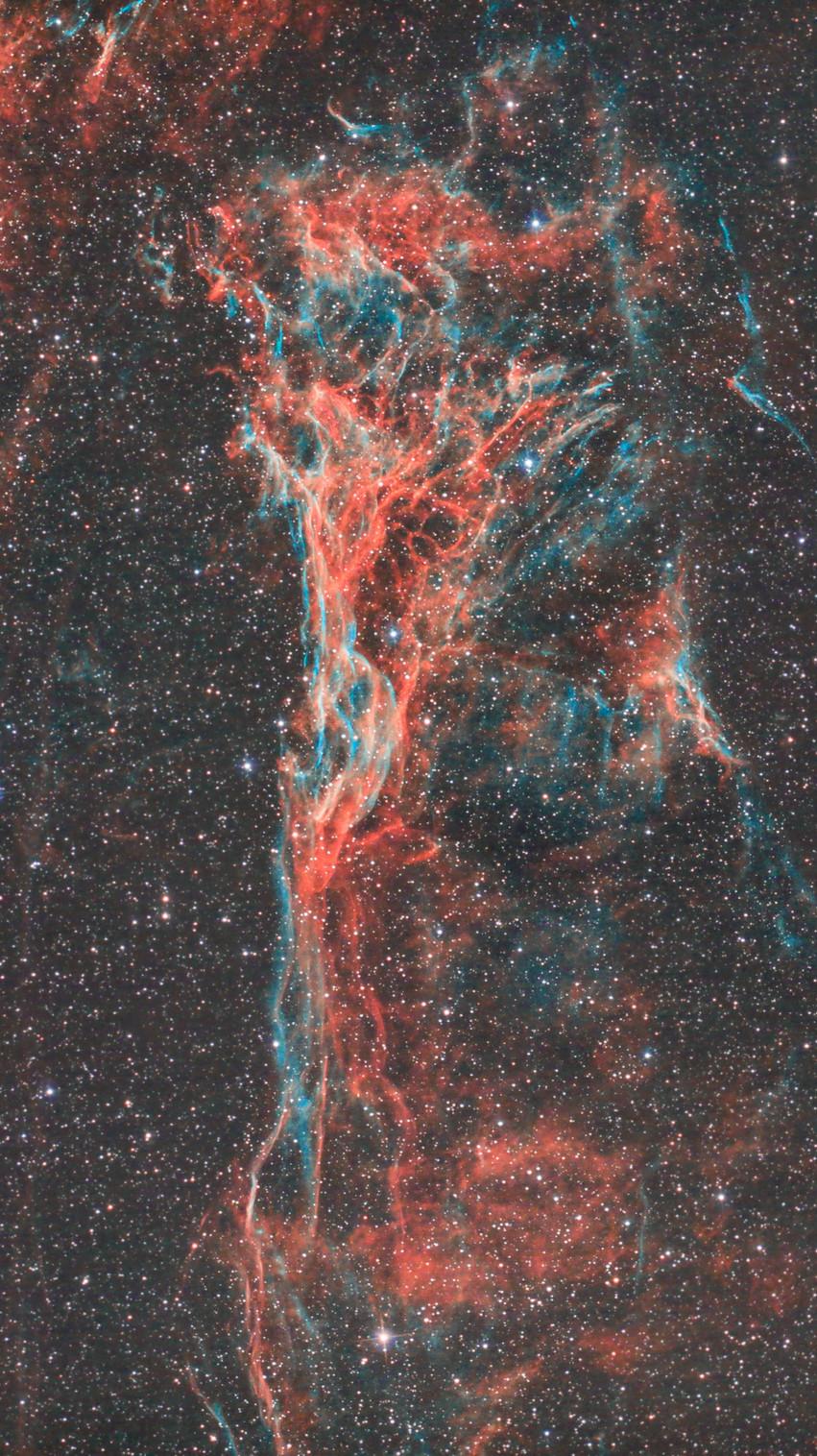 Pickering's Triangle Nebula Astrophotography