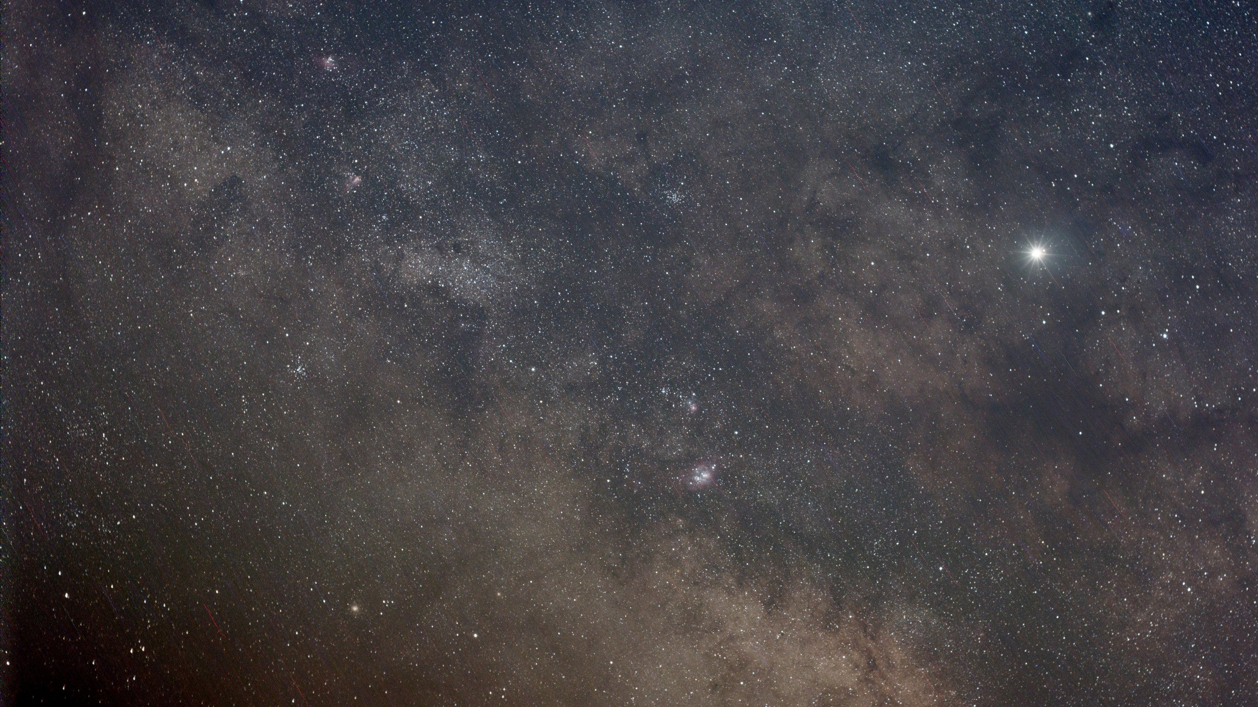 The Milky Way at 50mm tracked - 2 minutes from Nevada with the Omegon Mini Track LX2