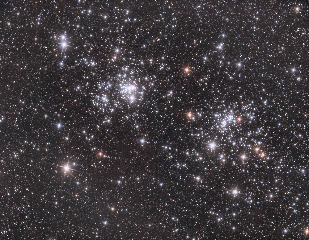 The Double Cluster in Perseus Astrophotography NGC 869 and NGC 884