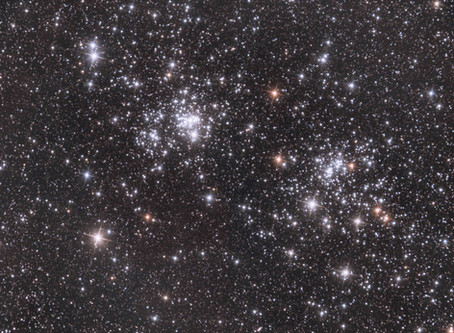 NGC 869 & NGC 884  - The Double Cluster in Perseus