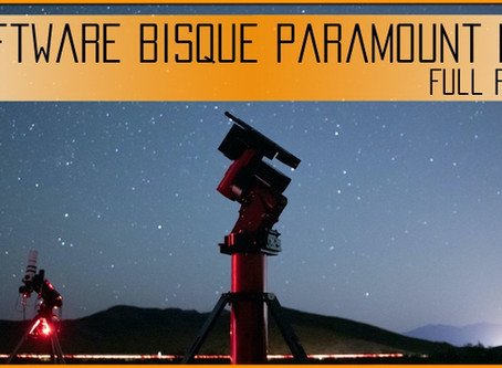 Software Bisque Paramount MyT Review: A luxury Mount for Amateur Astrophotographers