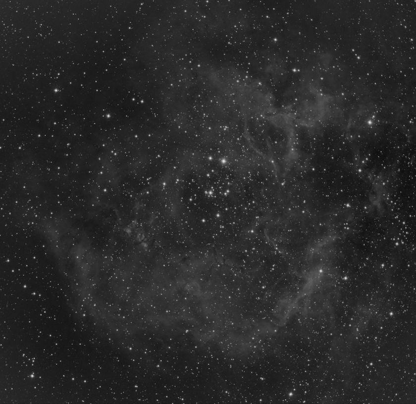 Rosette Nebula Sulfur II