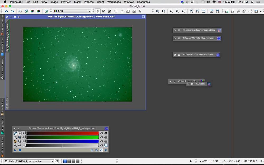 M101 pixinsight processing