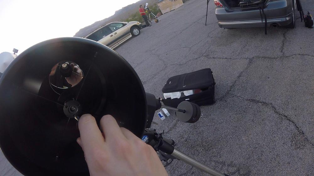 Collimater le télescope - Mirroir Secondaire
