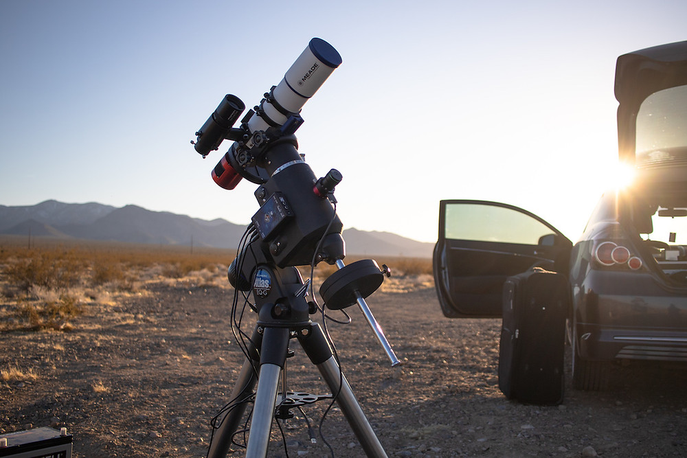 Full portable astrophotography setup
