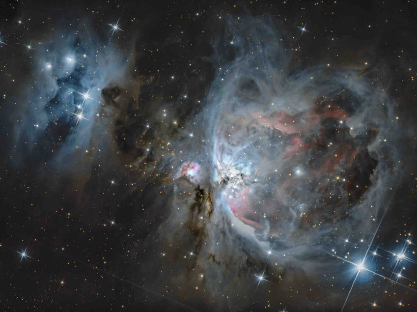 The Orion Nebula with a Canon T3i