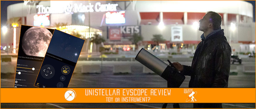 Review of the EVscope Smart Telescope by Unsitellar