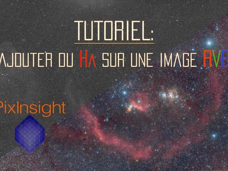 PIXINSIGHT : COMBINER DU HA À UNE PHOTO RVB