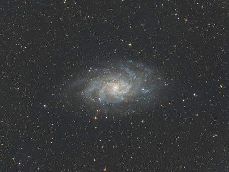 M33 - The Triangulum Galaxy - Astrophotography