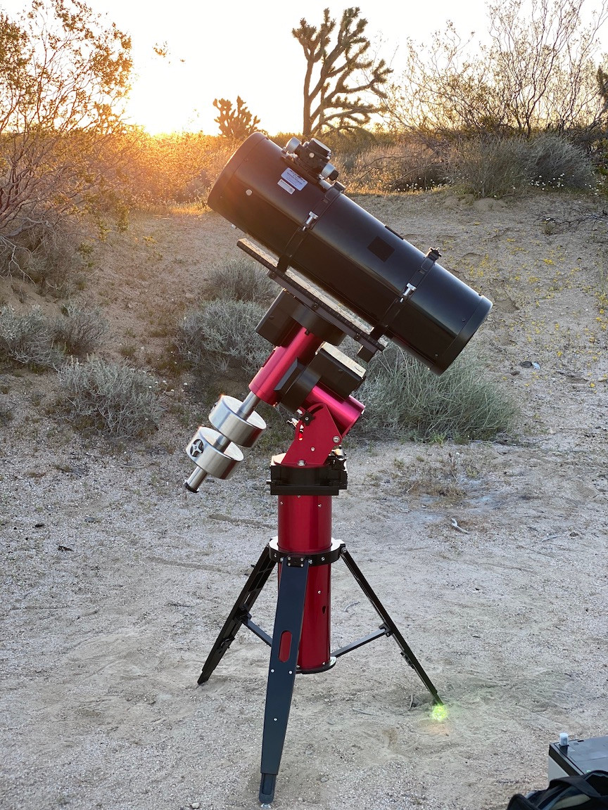 Software Bisque Paramount MyT Mount and Orion Reflector Astrograph