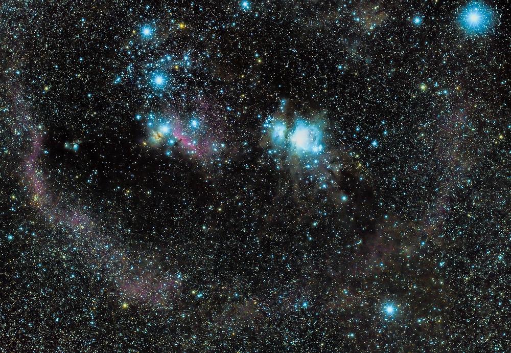 M31 et M33 champ large 50mm