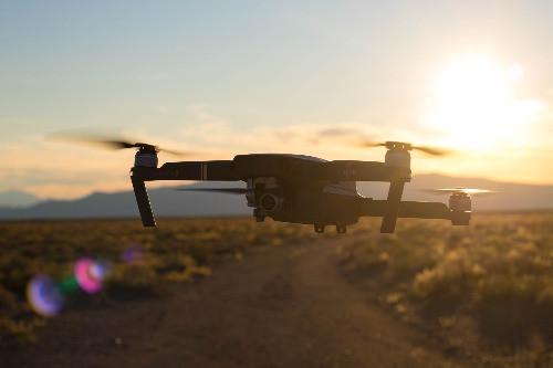 DJI Mavic Pro Drone Nevada Desert Astrophotography Galactic Hunter