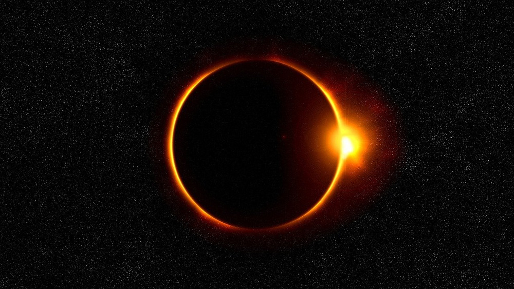 An Annular Solar Eclipse with the Ring of Fire