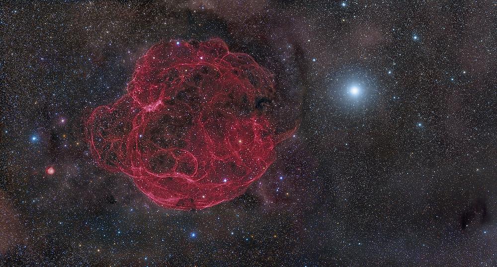The Spaghetti Nebula Astrophotography