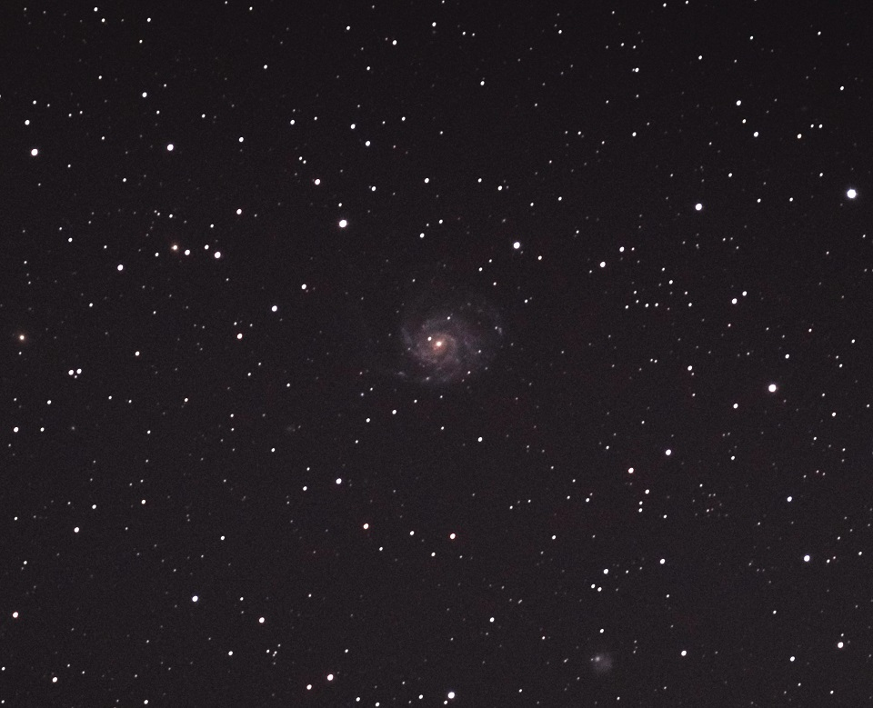 M101 untracked dSLR Astrophotography