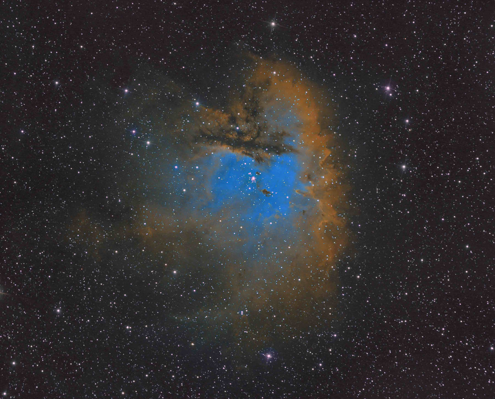 The Pacman Nebula Astrophotography