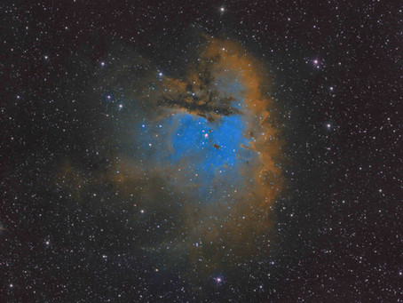 NGC 281 - The Pacman Nebula with the ASI 1600MM