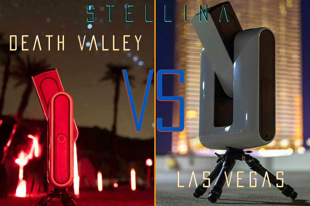 Stellina Smart Telescope full review: Imaging from Death Valley vs Imaging from Las Vegas Strip