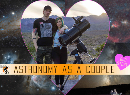 Astronomy as a couple: How we started and our full timeline together