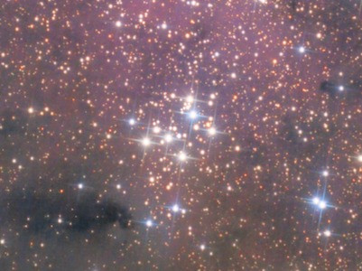 Messier 29 open cluster astrophotography