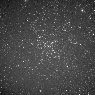 Messier 38 Luminance filter from the ZWO ASI 1600MM Astrophotography camera