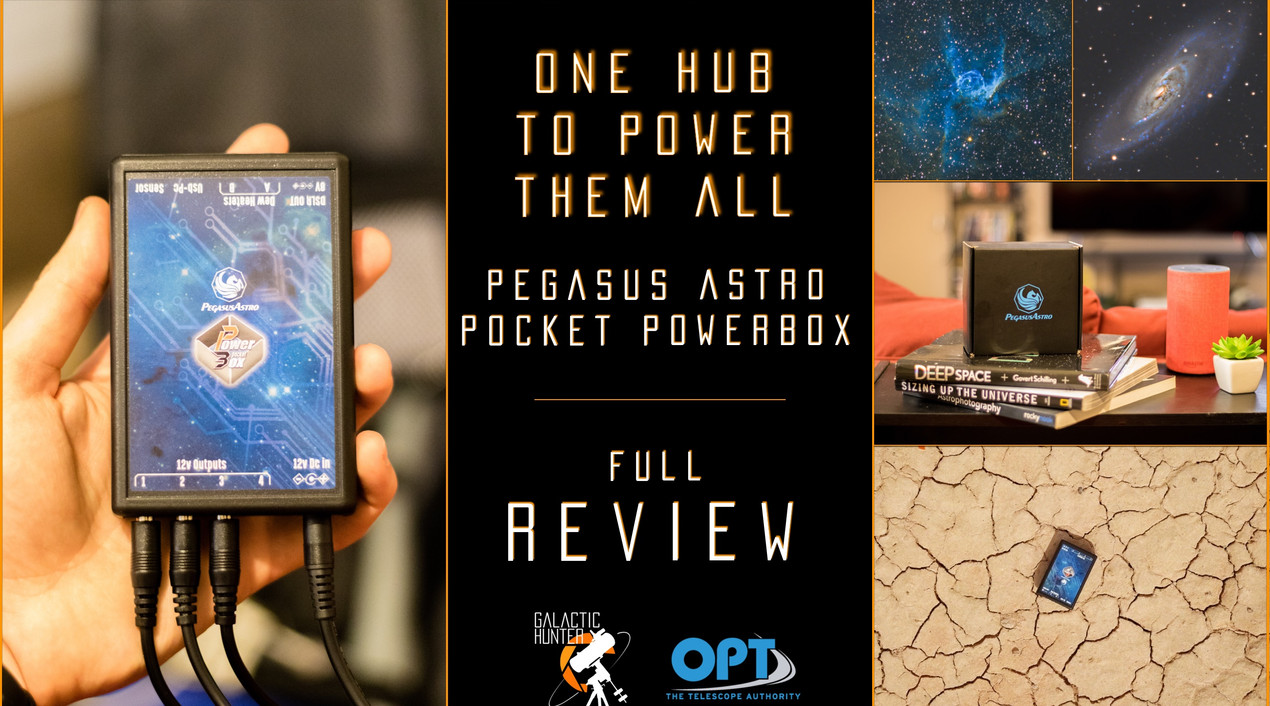 Review of the Pegasus Astro Pocket Powerbox for Astrophotography