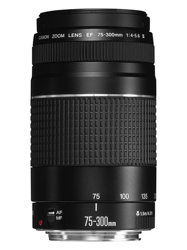 Canon EF 75-300mm f/4.5-6 III DSLR Camera lens for beginner Astrophotographers, affordable telephoto lens for amateur astrophotography. How to photograph the Milky Way and deep sky objects with a DSLR camera