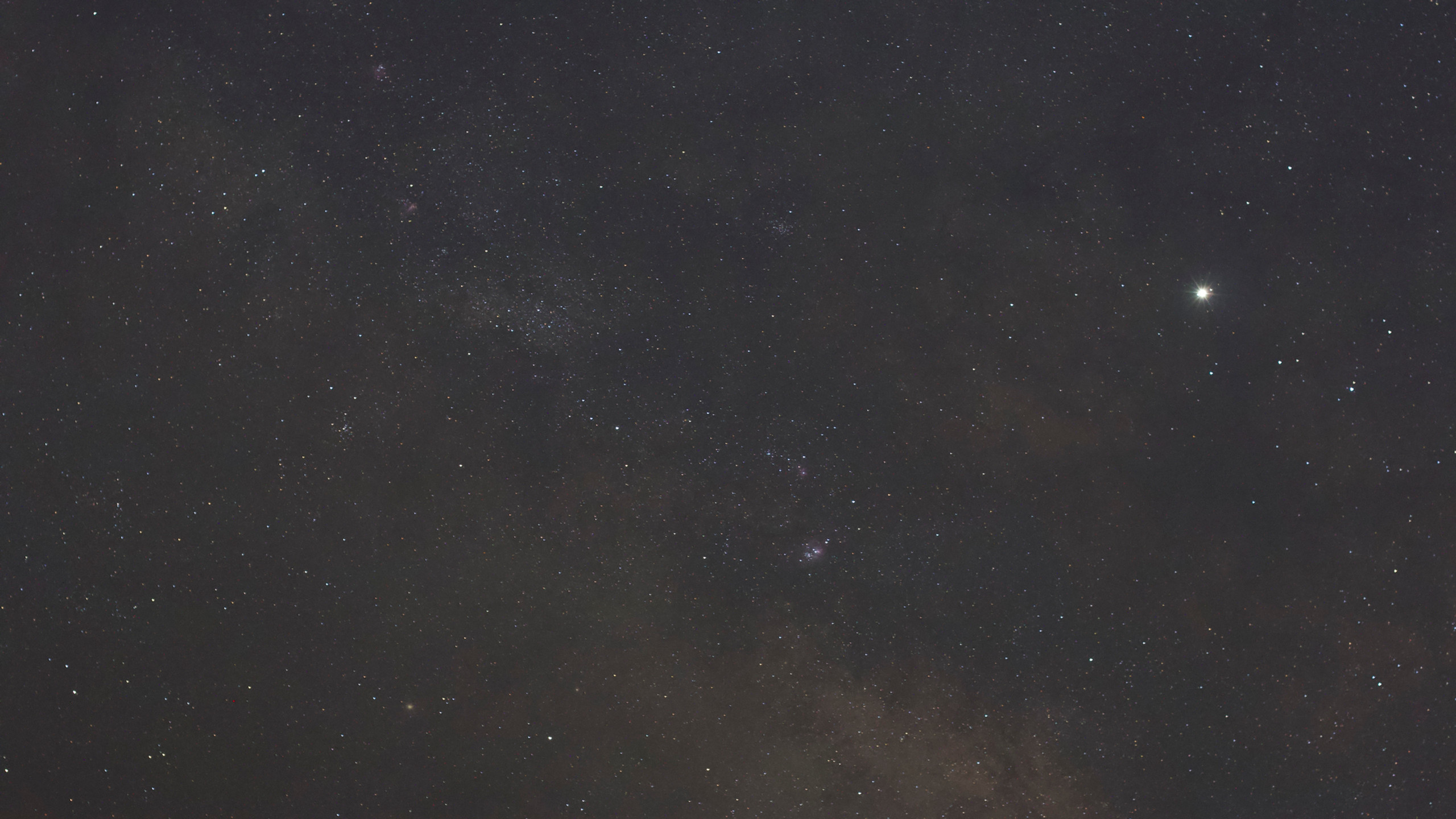 The Milky Way at 50mm tracked - 30 seconds from Nevada with the Omegon Mini Track LX2