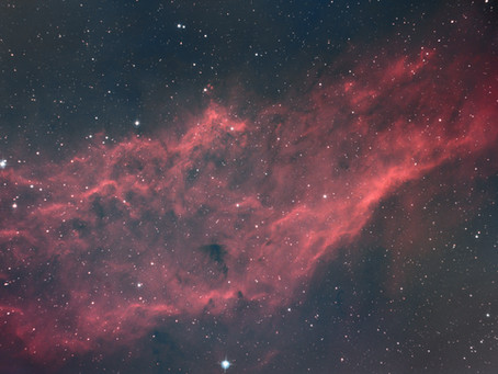 NGC 1499 - The California Nebula taken from our backyard