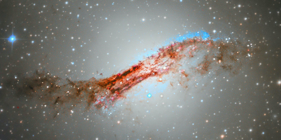 the core of Centaurus A
