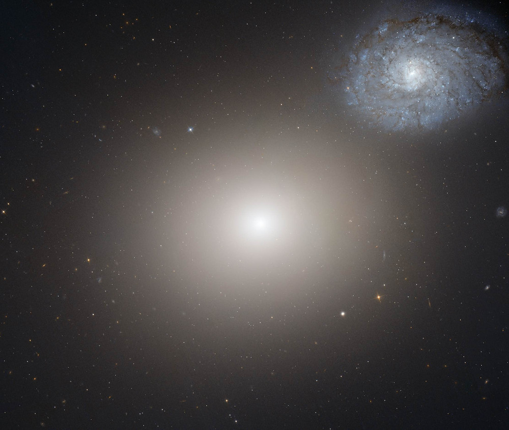 Messier 60 by the Hubble Space Telescope