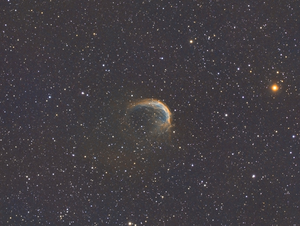 Sh2-188 Astrophotography in narrowband using the Stellarvue SVX130 and the ZWO ASI 1600MM