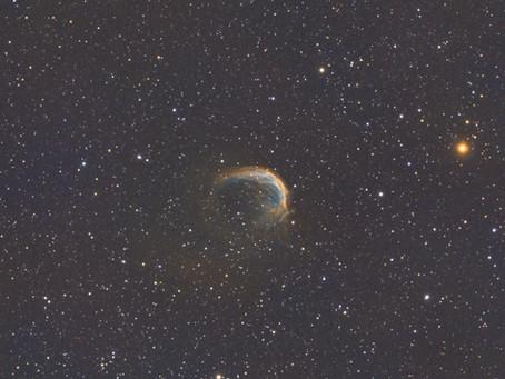 SH2-188 - The Shrimp Nebula from the backyard