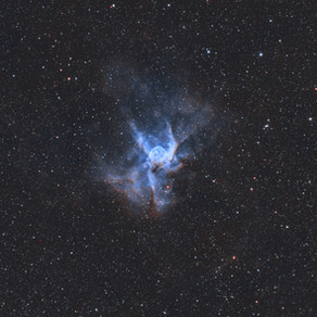 Thor's Helmet (NGC 2359) - Emission Nebula in Canis Major - Astrophotography