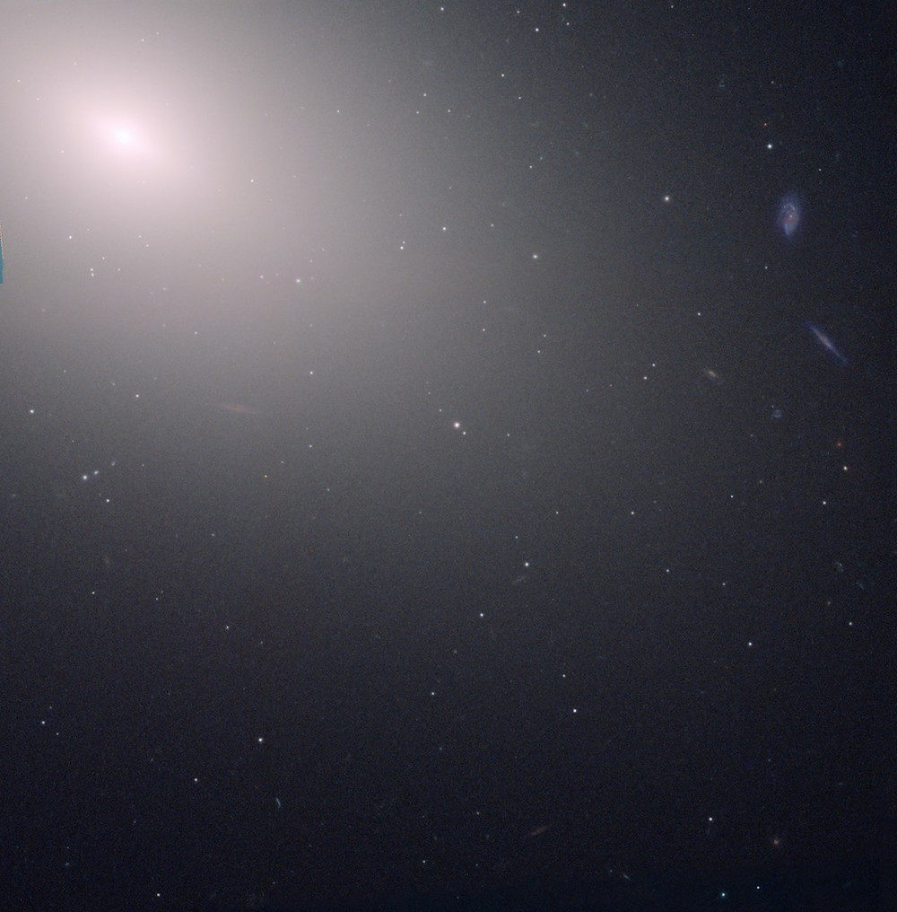 Messier 59 elliptical galaxy by Hubble