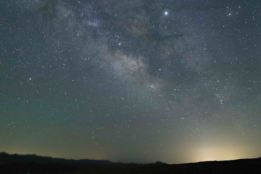 The Milky Way Astrophotography with the Omegon Mini Track LX2 star tracker from Nevada
