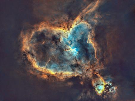IC 1805 - The Heart Nebula in Narrowband