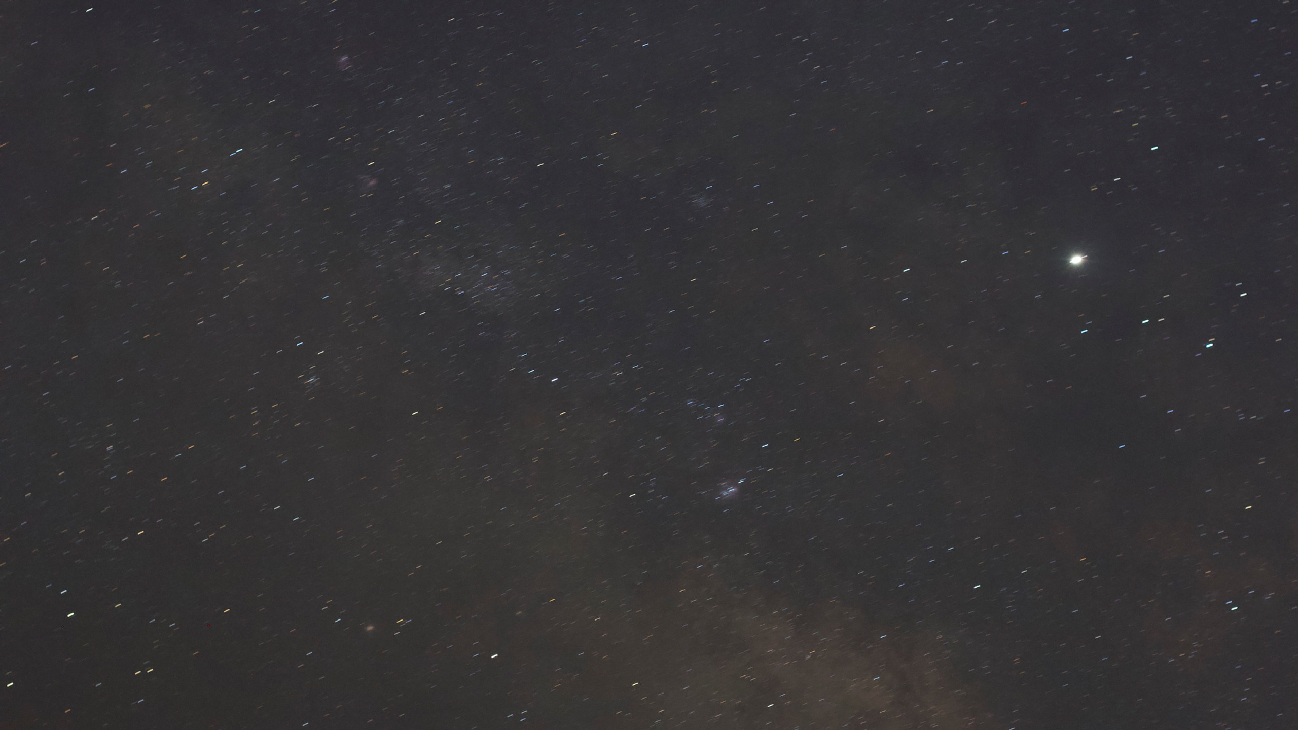 The Milky Way at 50mm untracked - 30 seconds from Nevada with the Omegon Mini Track LX2