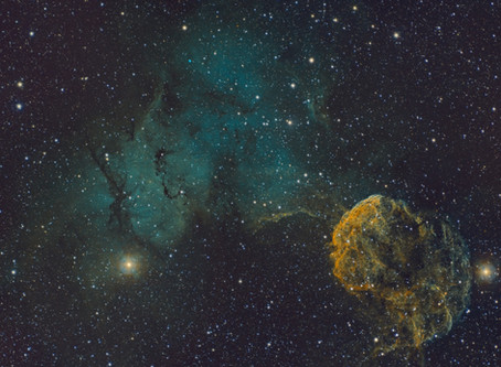 IC 443 - The Jellyfish Nebula with the Meade 70mm APO