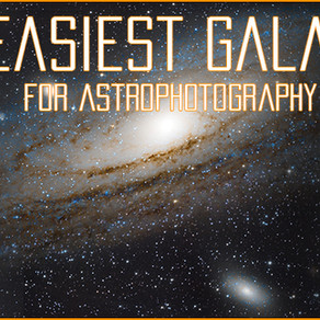 What are the easiest galaxies to photograph?