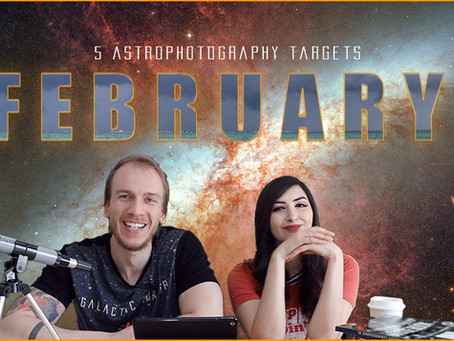 5 February Astrophotography Targets you can image this month!
