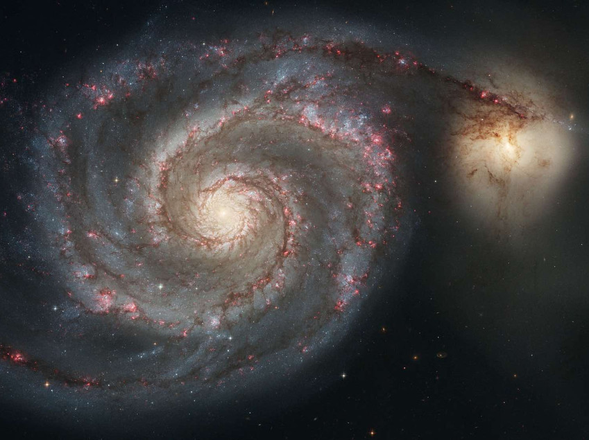 M51 Hubble Space Telescope
