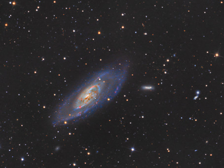 Messier 106 - INTERMEDIATE SPIRAL GALAXY IN CANES VENATICI