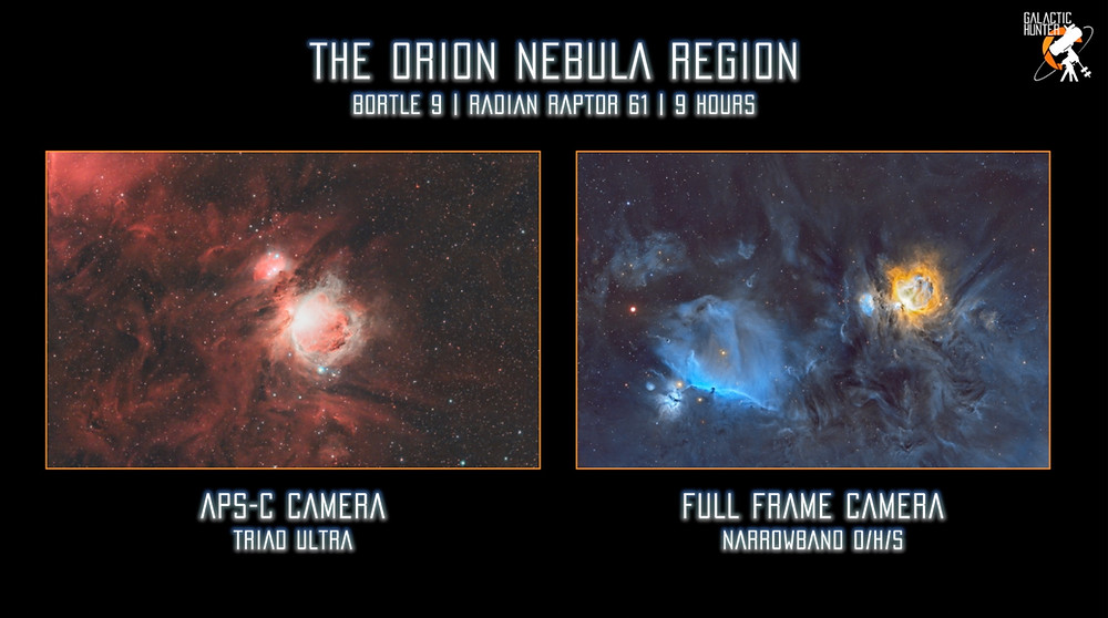 Full frame vs cropped sensor for astrophotography