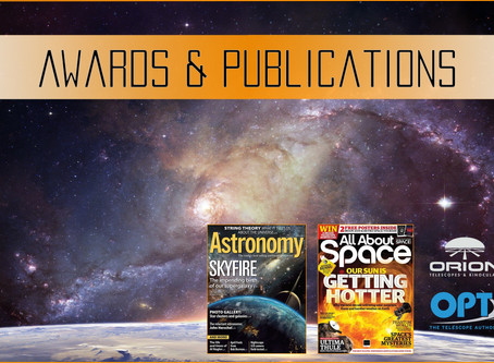 Our Astrophotography awards and publications
