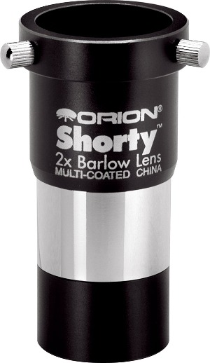 Orion Shorty 2x barlow for planetary imaging