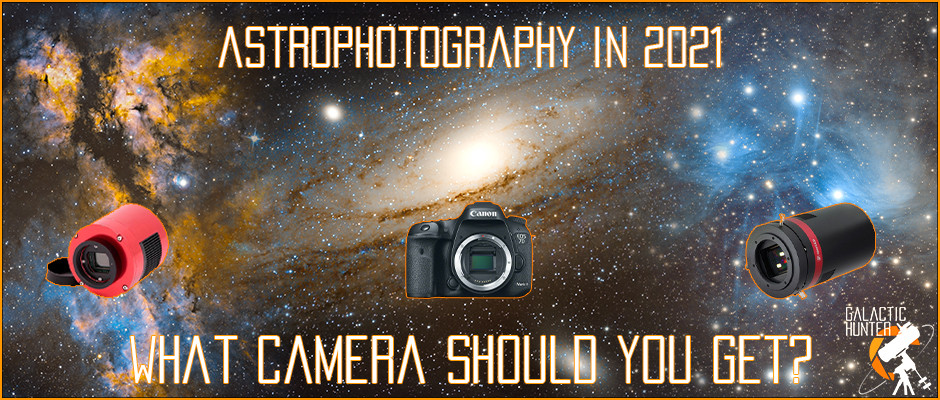 Best astrophotography cameras for 2021